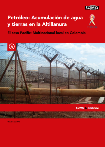 publication cover - Petroleum: Accumulation of oil, water and land in the Altillanura