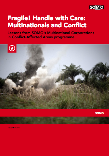 publication cover - Fragile! Handle with Care: Multinationals and Conflict