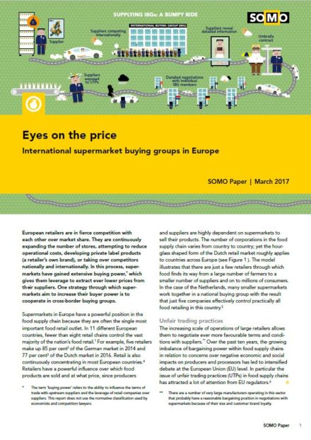 publication cover - Eyes on the price