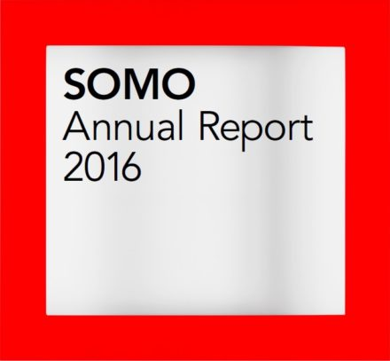 publication cover - SOMO – Annual Report 2016