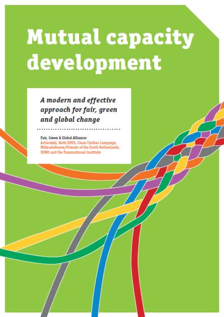 publication cover - Mutual capacity development