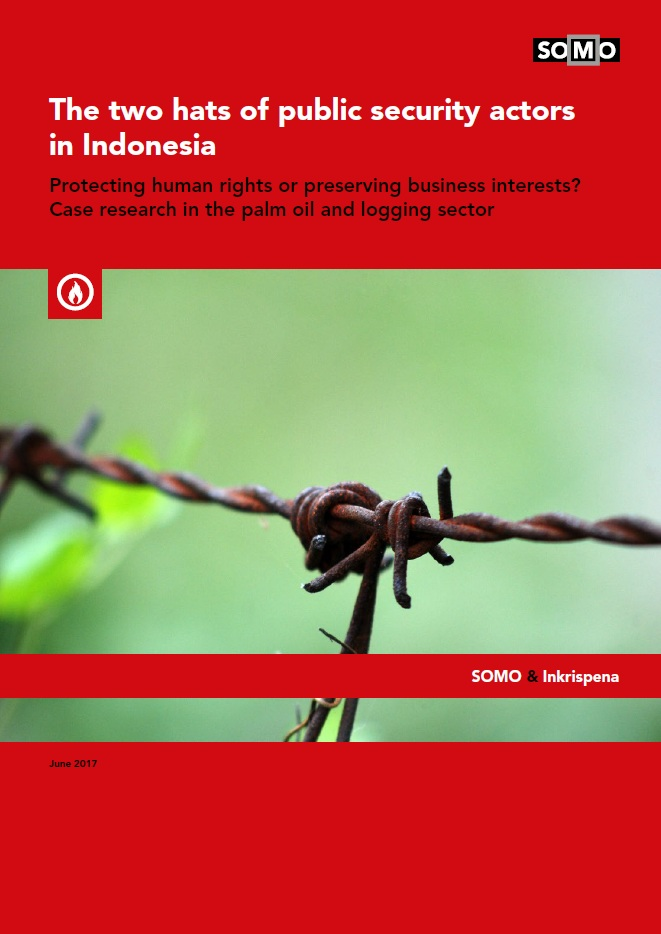 publication cover - The two hats of public security actors in Indonesia