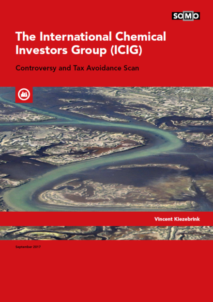 publication cover - The International Chemical Investors Group (ICIG)