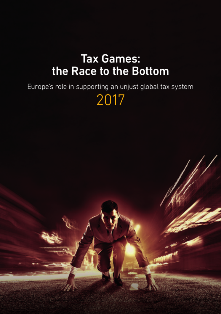 publication cover - Tax games: the race to the bottom
