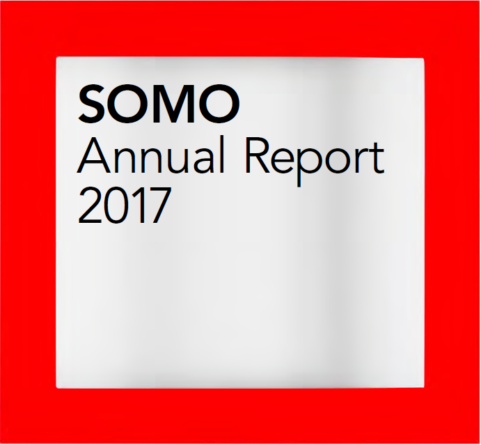 publication cover - SOMO – Annual Report 2017