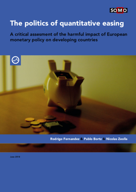 publication cover - The politics of quantitative easing