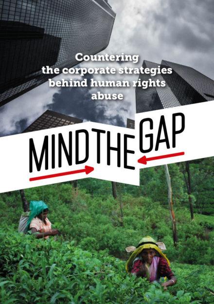 publication cover - Mind the Gap brochure