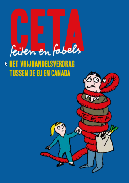 publication cover - CETA: facts and myths