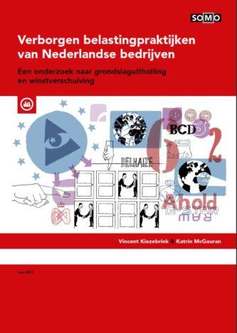 publication cover - Hidden tax practices of Dutch companies