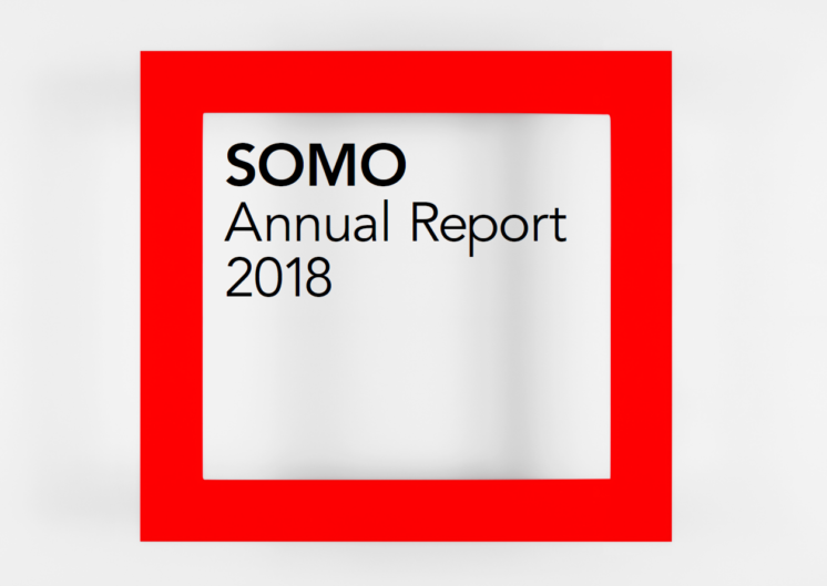 publication cover - SOMO annual report 2018