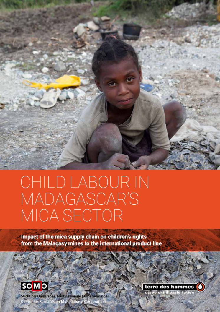 publication cover - Child labour in Madagascar's mica sector
