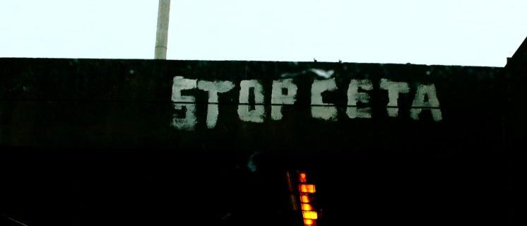 Stop CETA, Foto: Hugues Draelants (https://www.flickr.com
