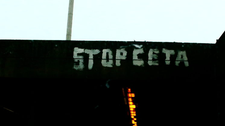 Stop CETA, Foto: Hugues Draelants (https://www.flickr.com