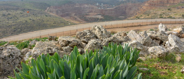 Nahal Raba stone quarry, Occupied Palestinian Territory, Photo © by Al-Haq.