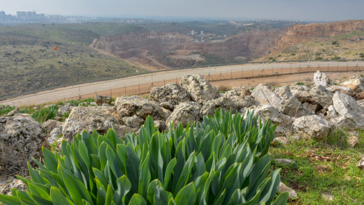 Nahal Raba stone quarry