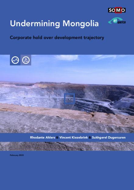 publication cover - Undermining Mongolia