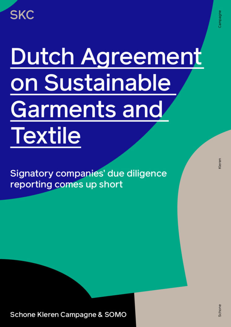 publication cover - Dutch Agreement on Sustainable Garments and Textile