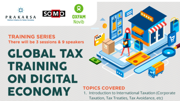 Global tax training Prakarsa