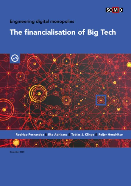publication cover - The financialisation of Big Tech