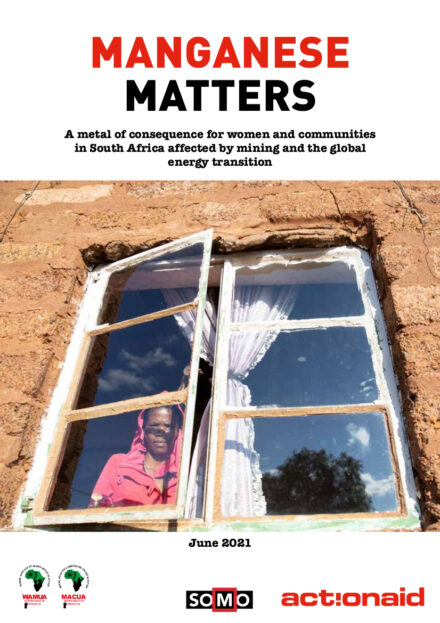 publication cover - Manganese matters