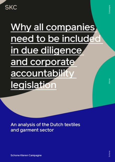 publication cover - Why all companies need to be included in due diligence and corporate accountability legislation